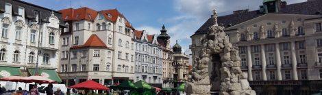 Luca Palmarini - Lo strano caso non letterario della città di Brno
