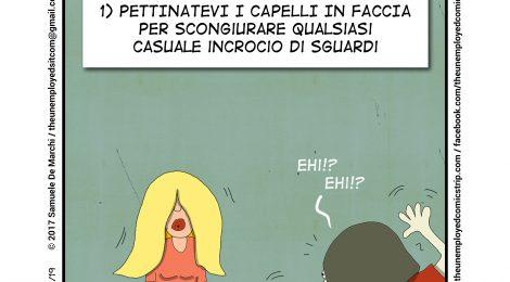 Samuele De Marchi - Per evitare abbordaggi maschili indesiderati...