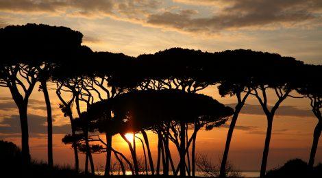Gordiano Lupi - La grande bellezza - Tramonto a Baratti