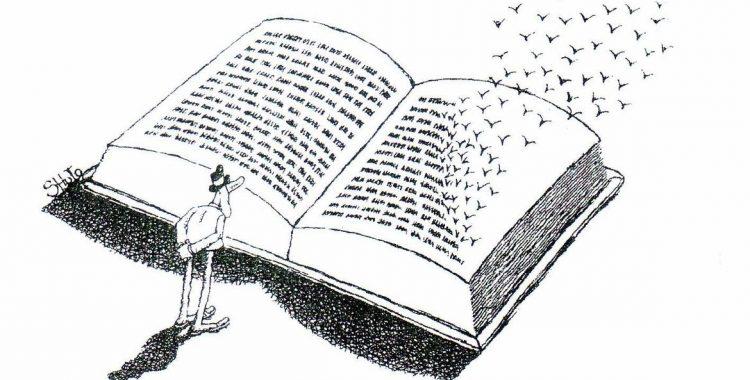 Sergio Calzone - Storiacce editoriali - Si è un vero essere vivente soltanto proporzionalmente alla quantità di parole possedute